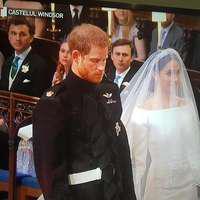 Primele imagini de la nunta Printului Harry cu Meghan Markle