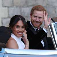 Imagini virale de la nunta Prințului Harry cu Meghan Markle