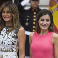 Melania Trump şi Regina Letizia a Spaniei – duelul ţinutelor. Rochiile purtate la întâlnirea de la Casa Albă – FOTO