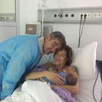 Primele imagini cu băiețelul Roxanei Ciuhulescu. Micuțul seamănă cu mama lui