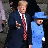 Moment penibil în timpul vizitei lui Trump în Marea Britanie. Cum a eclipsat-o președintele SUA pe Regina Elisabeta a II-a