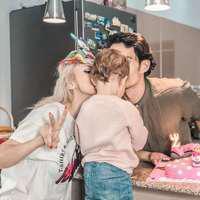 Primele imagini cu chipul fetiței Andreei Bălan.