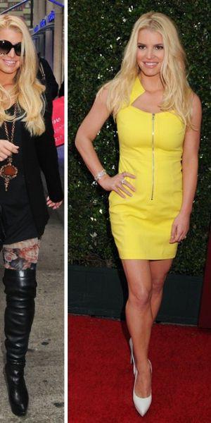 Jessica Simpson face o pierdere în greutate de 100 de kilograme