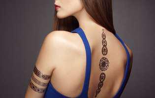 Cele mai frumoase tatuaje feminine și semnificațiile lor