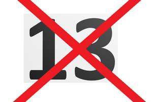 13 numere mai rele decât 13