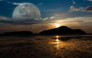 Super Luna și efectele ei