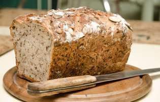 pâine-de-casă-cu-ceapă