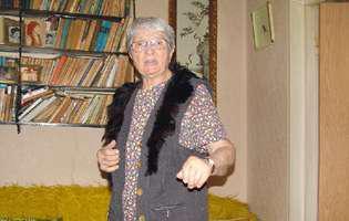 Doamna Toni la 90 de ani