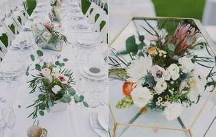 Tendințele pe 2017 pentru aranjamentele la mesele de nuntă