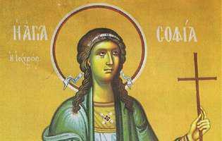 Sfânta Muceniță Sofia