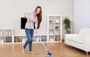 Ce greșeli poți să faci când faci curat în casă!