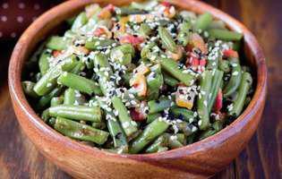 salata de fasole verde cu susan
