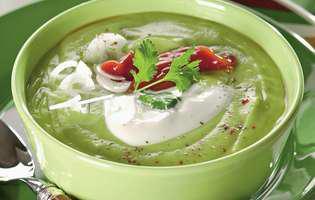 reteta de supa crema de castraveti