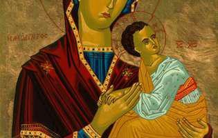 portretul Maicii Domnului