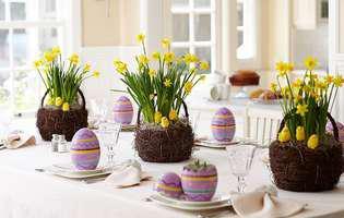 De Paște, pregătește o masă festivă!