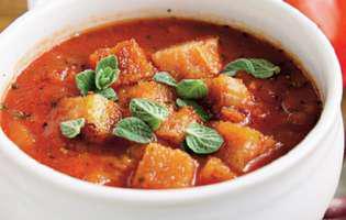 Supă italiană de pâine și roșii