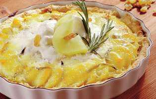 Tartă cu ananas