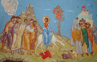 De Florii, Domnul nostru Iisus Hristos a intrat în Ierusalim