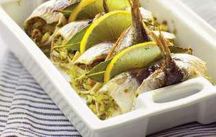 Sardine cu ceapă