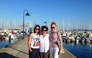 Octavia Geamănu și-a dus mama și sora în vacanță în sudul Italiei