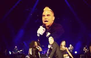 Robbie Williams, show unic în fața a 60 de mii de fani, la București