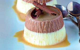 Panna cotta cu ciocolată