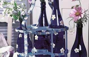 Fă-ți singură decorațiuni de vară din sticle colorate