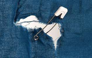 Trucuri ingenioase să repari hainele agățate sau rupte