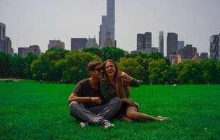 Adela Popescu și Radu Vâlcan, în luna de miere la New York