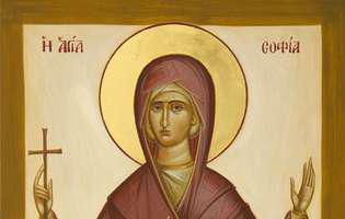 Sfânta Sofia protejează mamele și fiicele
