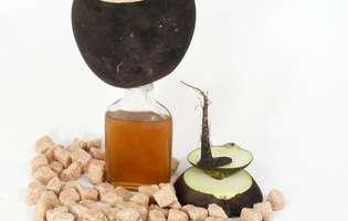 Cum se prepară siropul de ridiche neagră