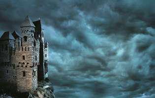 Legendele castelelor bântuite prind viață în noaptea de Halloween