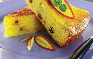 Prăjitură cu brânză de vaci