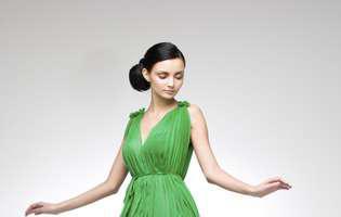 Fii proaspătă si naturală in verde