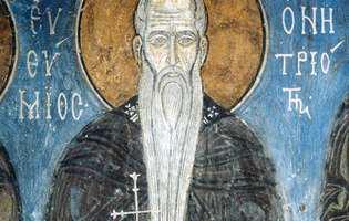 Sfântul Eftimie ține bărbații sănătoși