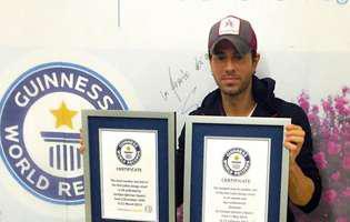 Enrique Iglesias, dublă distincție în Cartea Recordurilor