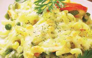 Paste cu legume la cuptor