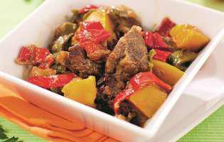 Mâncărică de porc cu ardei