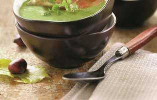 Supă cremă de praz