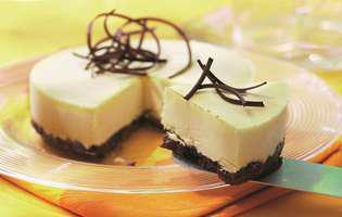Tartă cu ciocolată albă