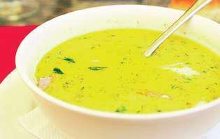 Supă grecească de pui