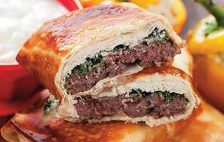 Plăcinte cu carne de vită