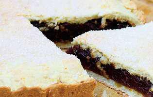 Prăjitură cu cremă de curmale
