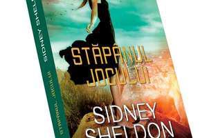 """""""Stăpânul jocului"""" de Sidney Sheldon, o carte captivantă"""