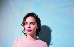 """Imagini nemaivăzute cu Emilia Clarke după ce a fost operată pe creier: """"Le-am cerut doctorilor să mă lase să mor..."""""""