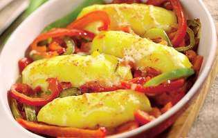 Găluște cu sos de ardei