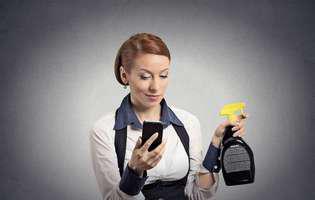 Cea mai ieftină soluție de curățat telefonul sau tableta