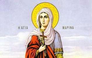 Calendarul Ortodox 2016: Duminica este pomenita Sfânta Marina, cea care apără sufletele copiilor