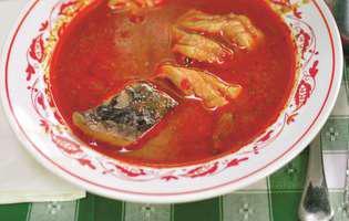 Supă de pește ungurească