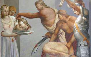 Calendar ortodox: Luni, este praznicul Tăierii Capului Sfântului Ioan Botezătorul